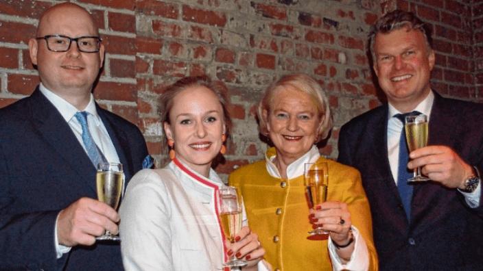 2019 Neujahrsempfang Kissig Claussen Motschmann Schernikau